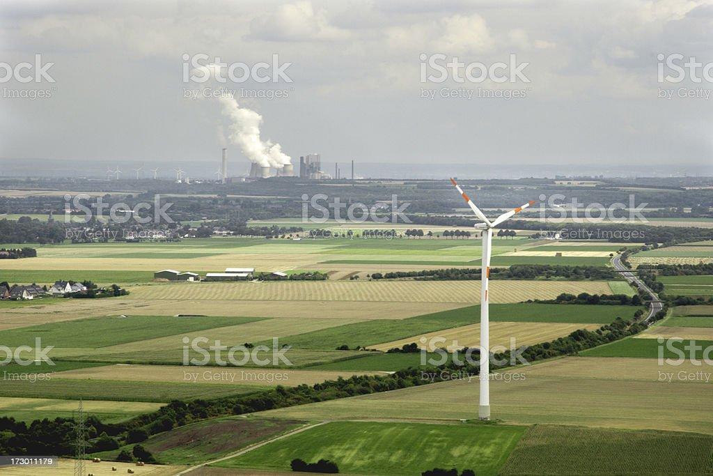 Energy Landscape royalty-free stock photo