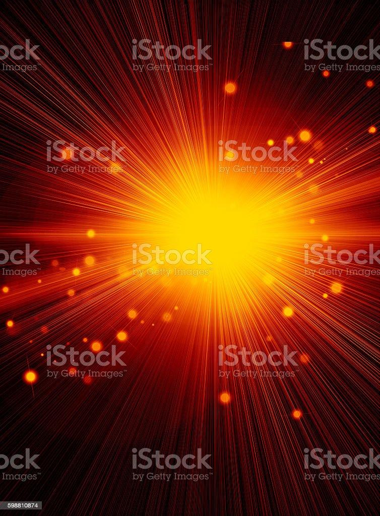 Energy light stock photo