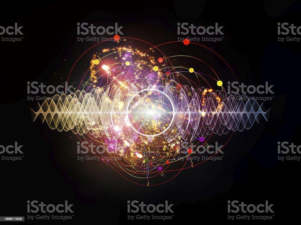 Energy of Atom royalty-free stock photo