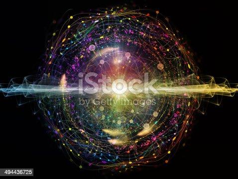 istock Energy of Atom 494436725