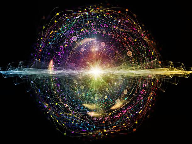 energie-atom - quant stock-fotos und bilder