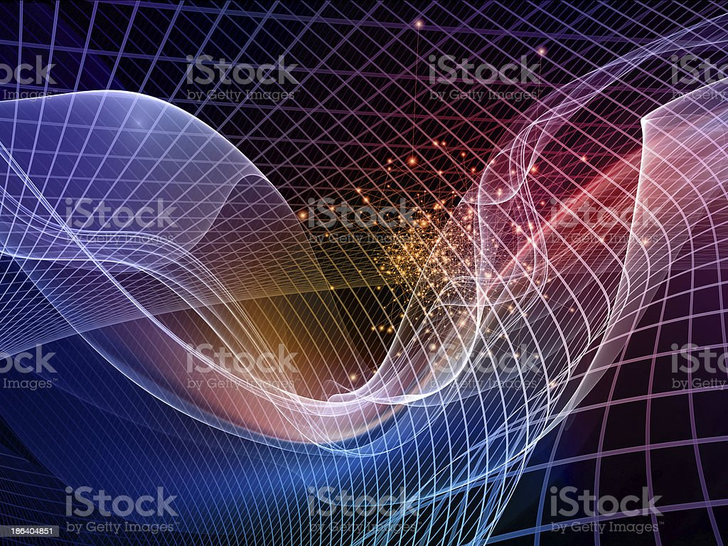 Energy of Fractal Realms royalty-free stock photo