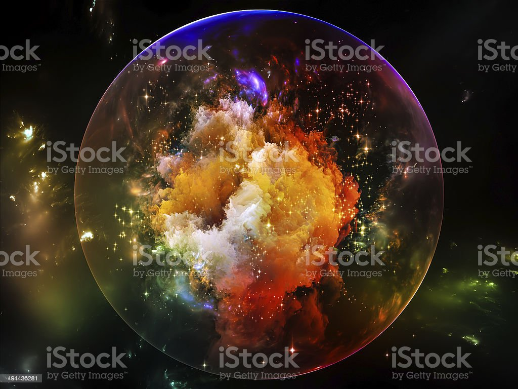 Energy of Space stock photo