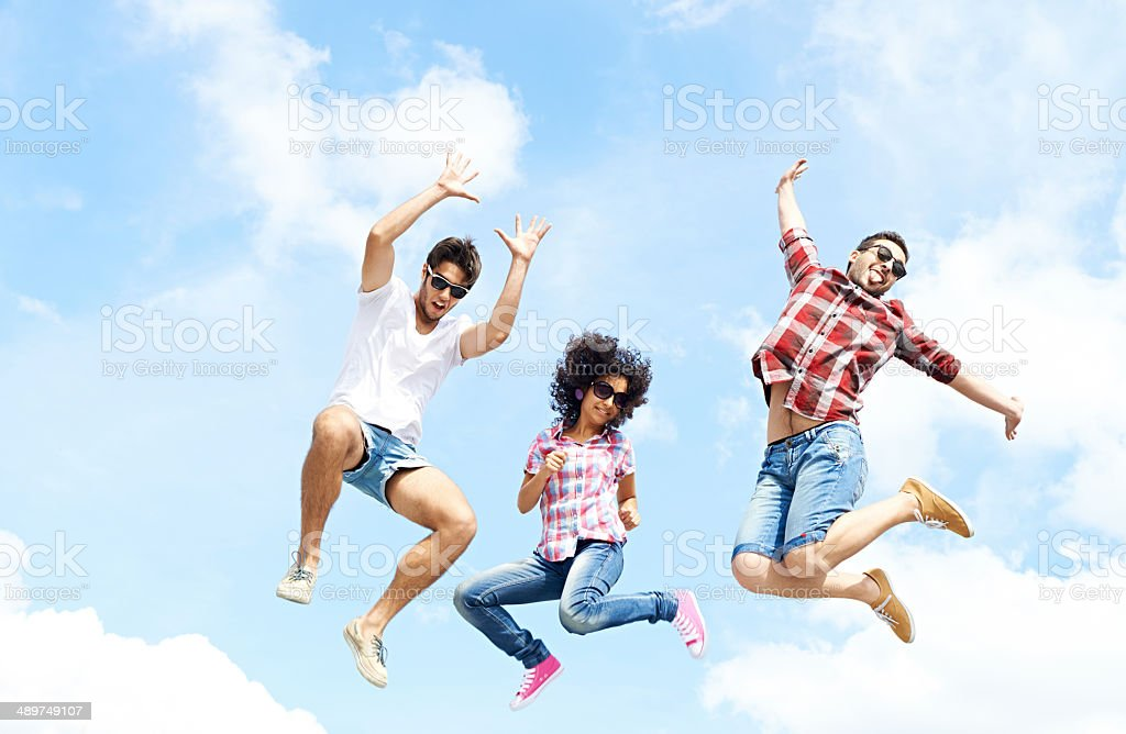 Energy of youth stock photo