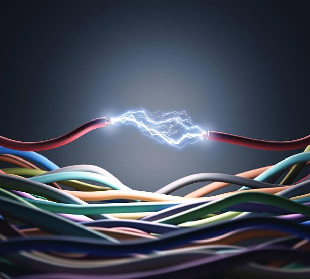 energy - stromkabel stock-fotos und bilder