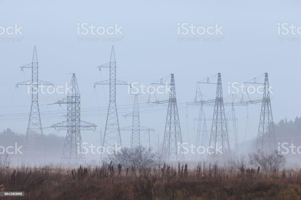 energie-Polen - Royalty-free Apparatuur Stockfoto