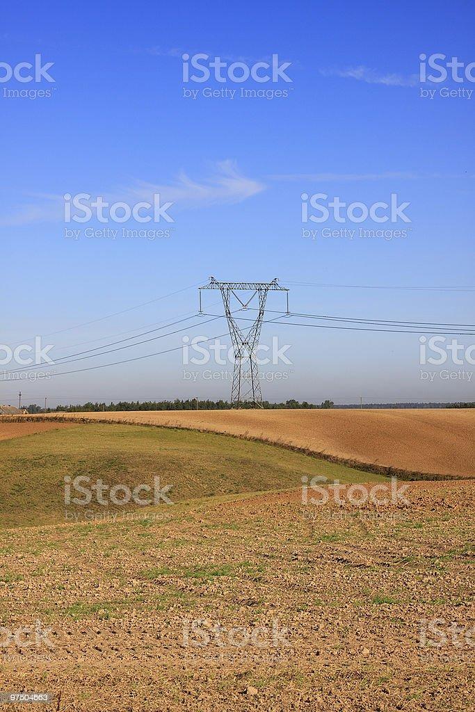 Energy Pylon royalty-free stock photo