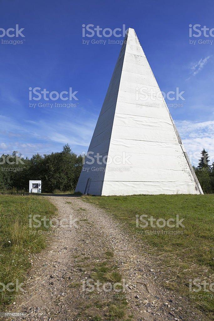 Energy pyramid royalty-free stock photo
