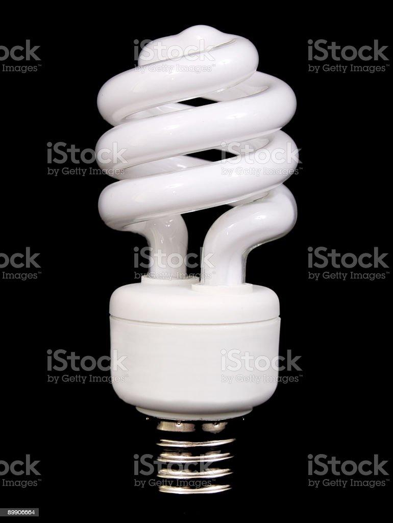 Energie Saver-Glühbirne Lizenzfreies stock-foto