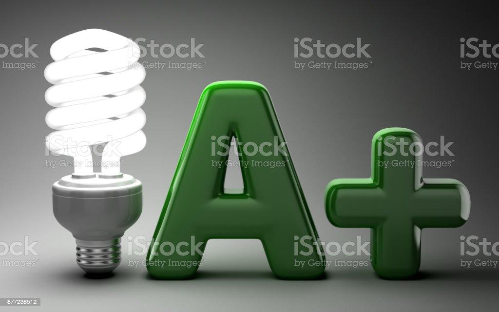 Energy Saver Concept stock photo