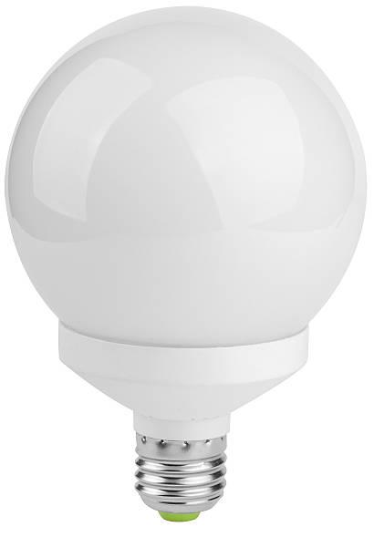 Energiesparende Glühbirne Neonlicht – Foto