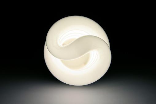 Energy Saving Light Bulb Stock Photo - Download Image Now