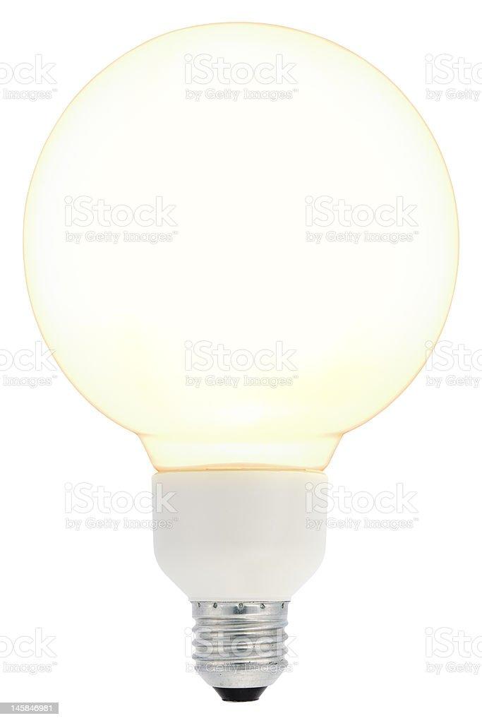 Energy Saving Lightbulb royalty-free stock photo
