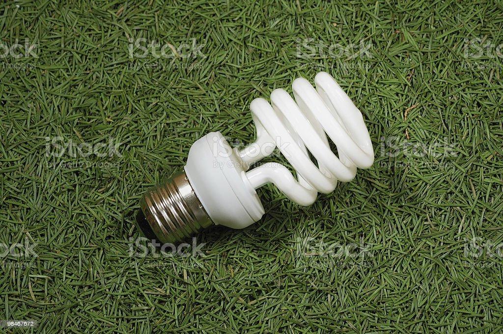 Energy saving omni light lamp royalty-free stock photo
