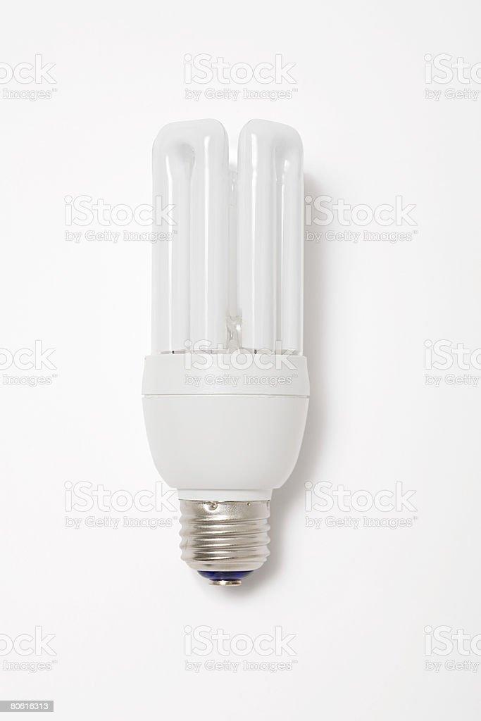 Energy savng lightbulb royalty-free stock photo