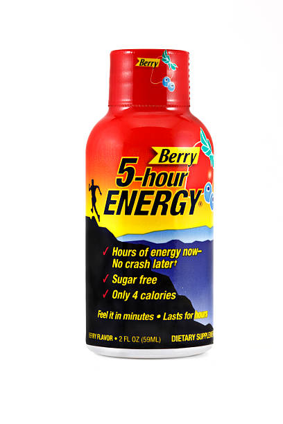 Energy Shot stock photo