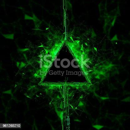 istock Energy stream Hologram 961265210