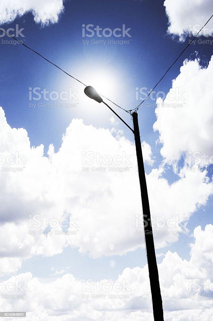Energy & Sunlight stock photo
