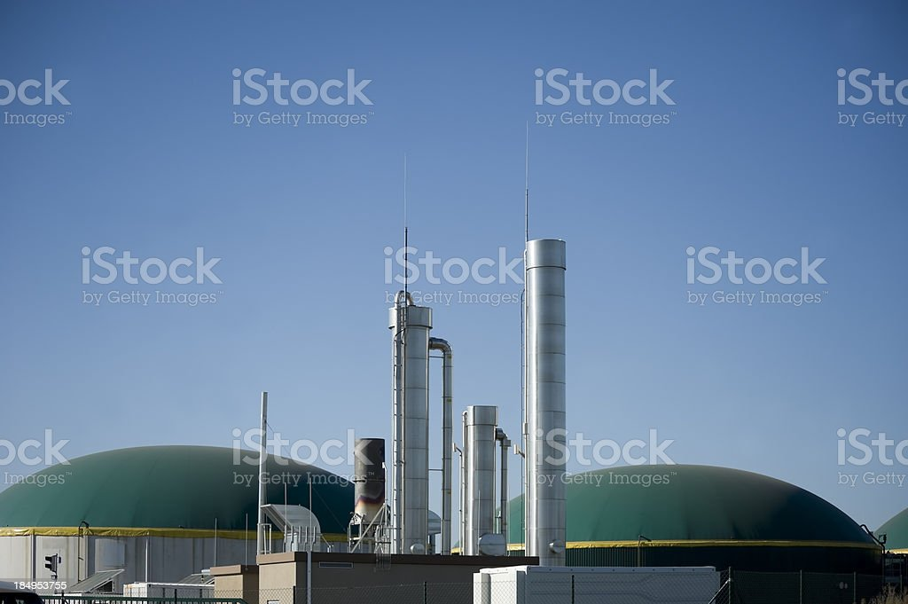 Energiewende, Bioenergie, Biogas energy Germany. stock photo
