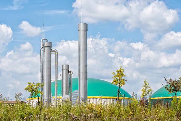 Energiewende, Bioenergie, Biogas fahren Energie, Deutschland. – Foto