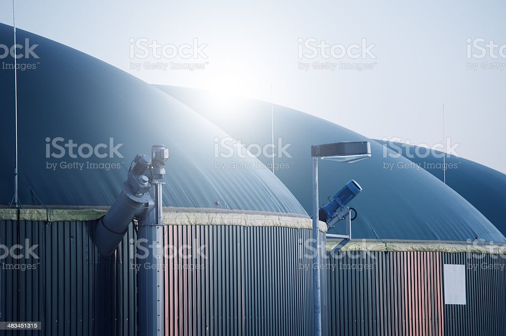 Energiewende, Biogas energy, Germany, Biomass stock photo