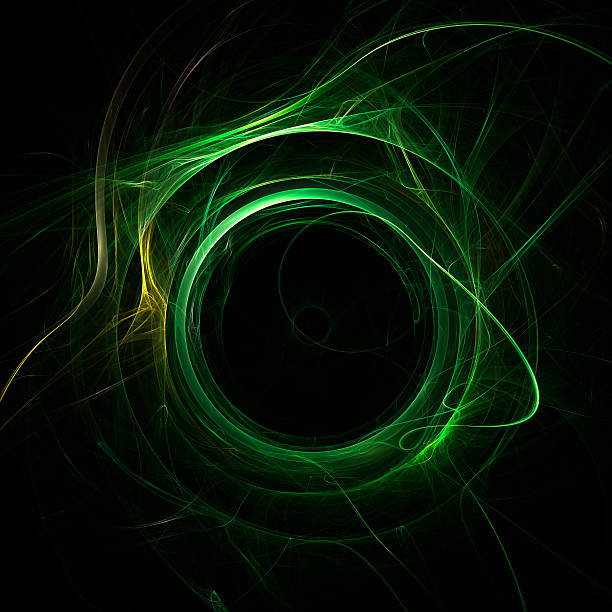 energy vortex - fractal stock photos and pictures