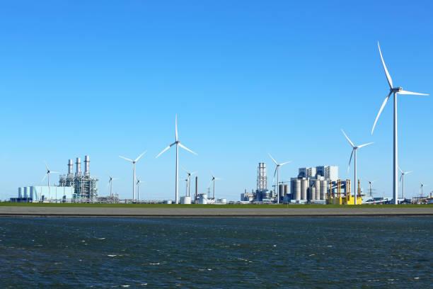 Energypark_Eemshaven stock photo