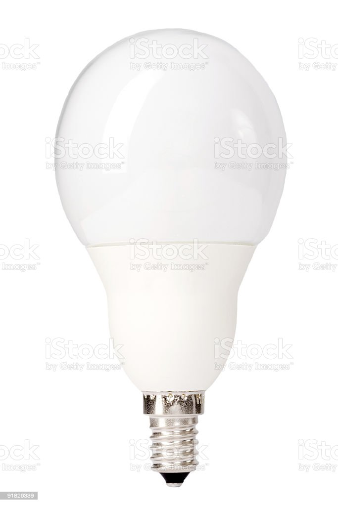 Energy-saving lamp royalty-free stock photo