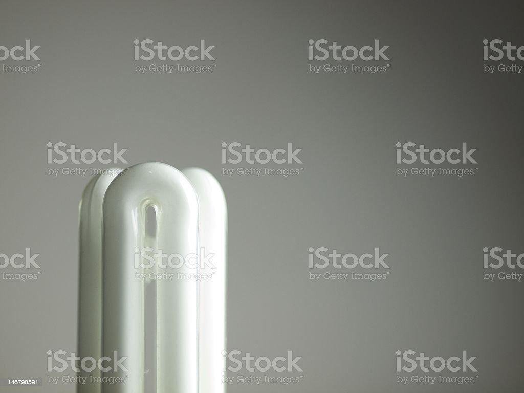 enery saving florescent light stock photo