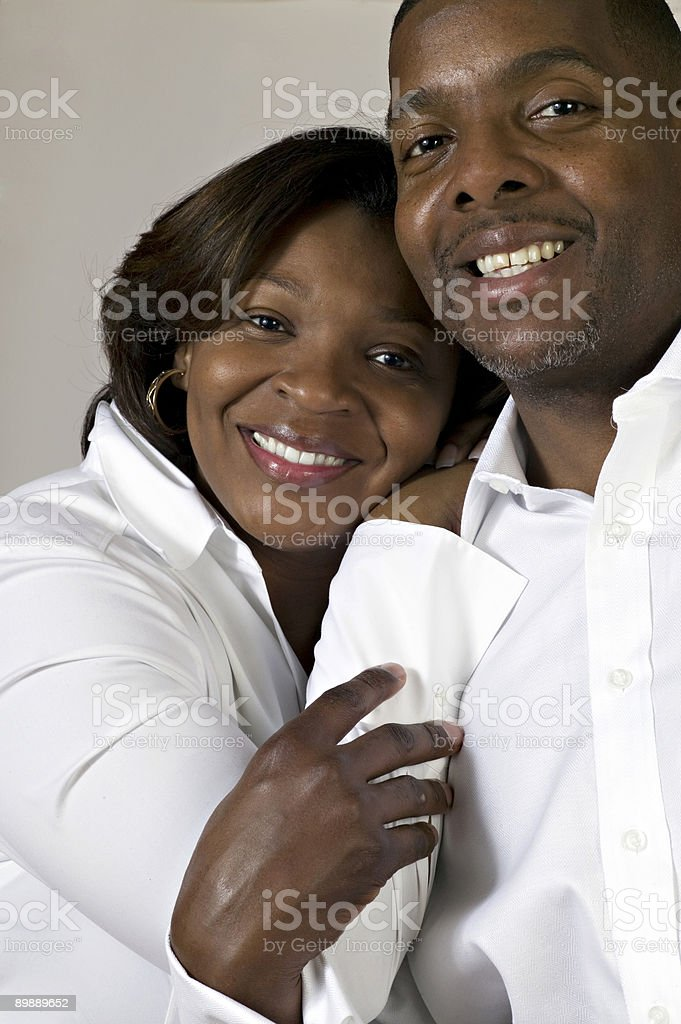engaged couple royalty-free stock photo