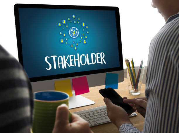 stakeholder ,  engagement concept  ,  strategy mind map, busines - contributor stock pictures, royalty-free photos & images
