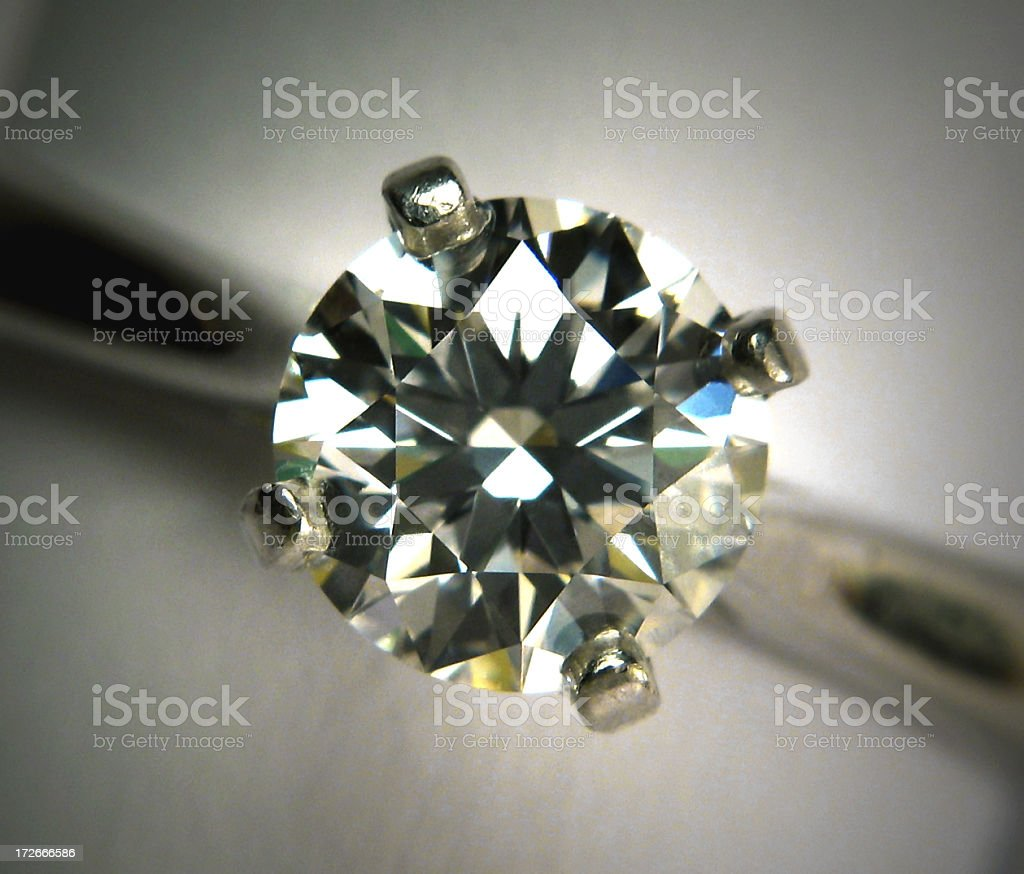 Engagement Diamond royalty-free stock photo