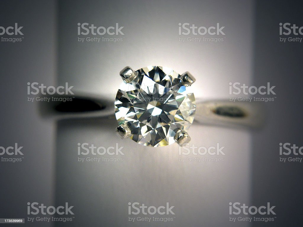 Engagement Ring 02 royalty-free stock photo