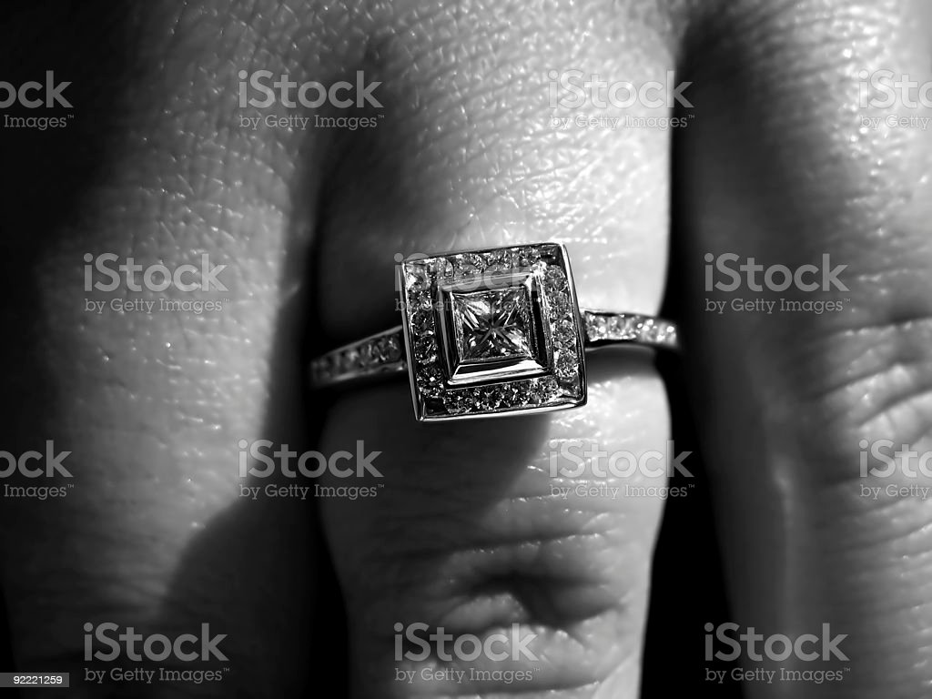 Engagement Ring royalty-free stock photo