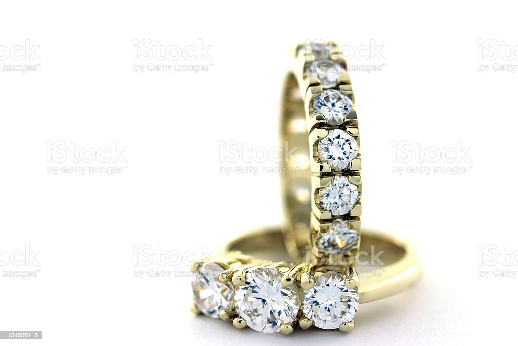 Engagement Rings 5 stock photo