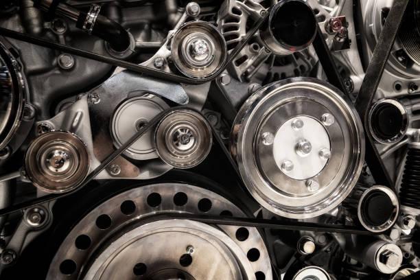 Engine background stock photo