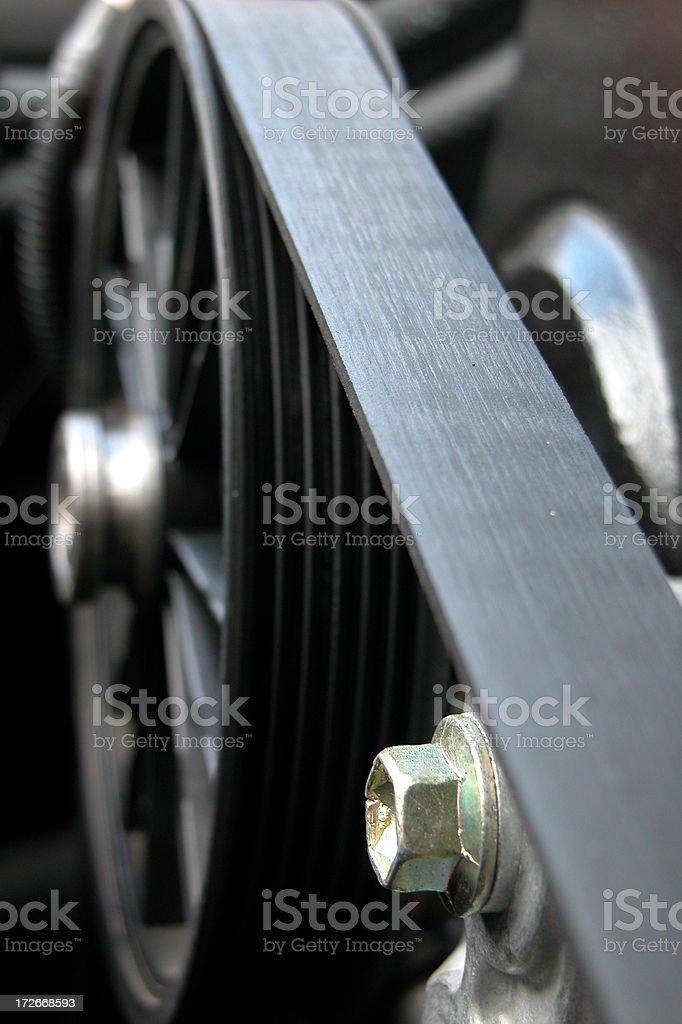 Engine Belt royalty-free stock photo
