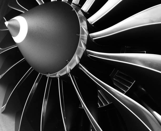 engine blades - silnik odrzutowy zdjęcia i obrazy z banku zdjęć