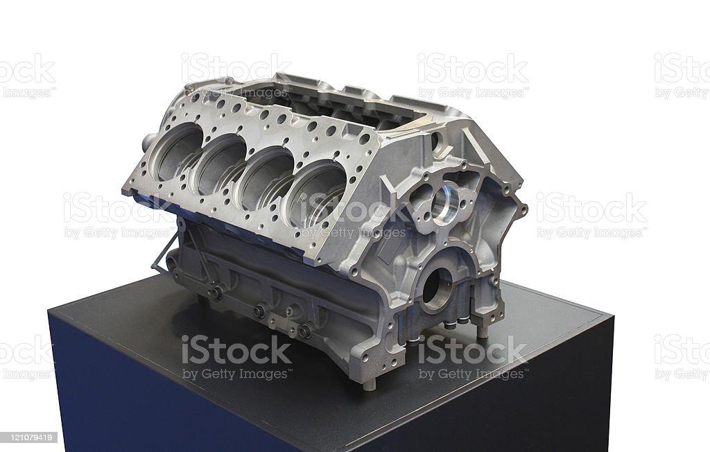 Engine Block. royalty-free stock photo