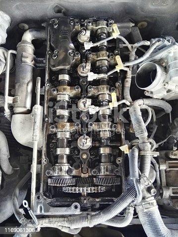 istock Engine device,automobile services,transport 1169061306