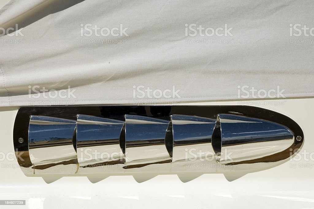 Engine eghaust royalty-free stock photo