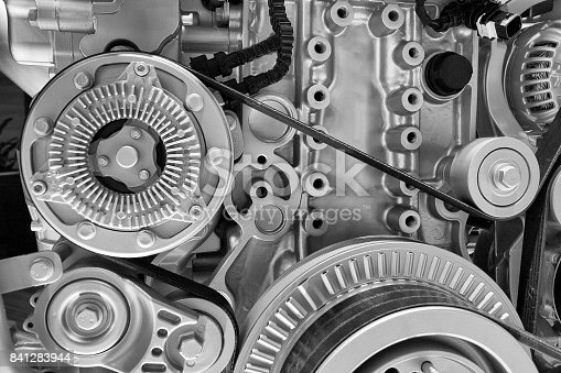 istock Engine interior 841283944