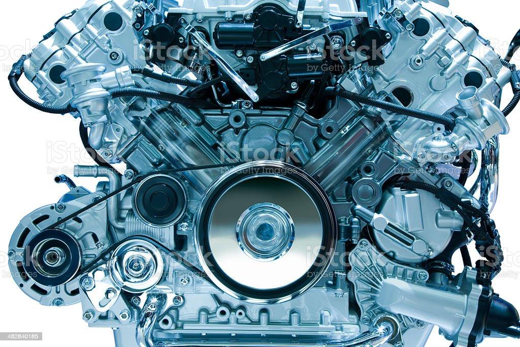 Engine Isolated royalty-free stock photo