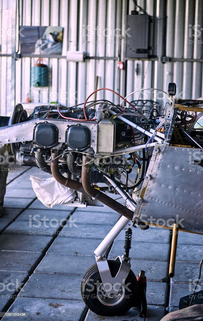 Engine Maintenance Of A Singleengine Parkenge Aircraft In