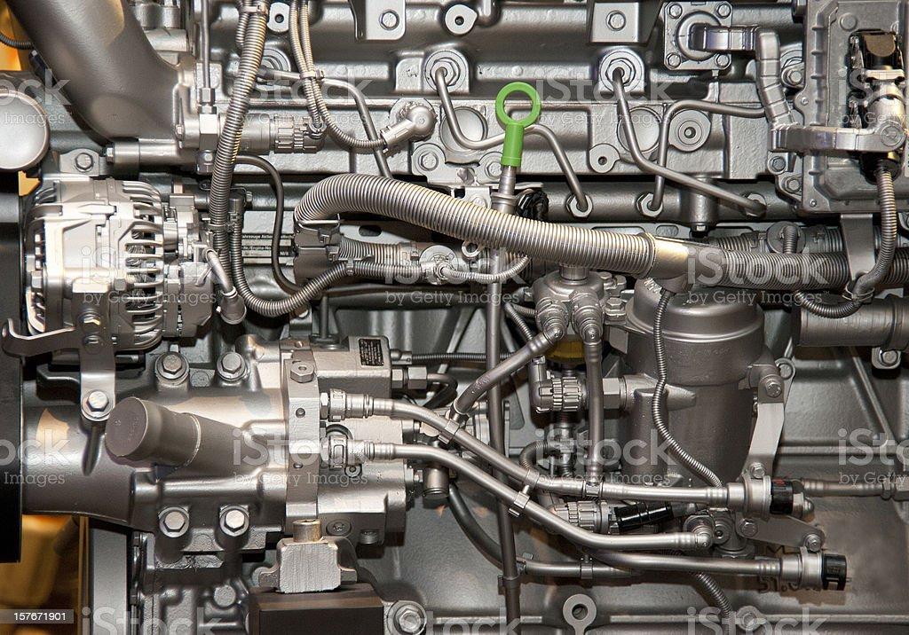 engine motor of inside new stock photo