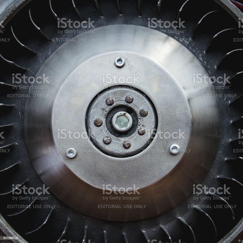 Engine motorcycle stock photo