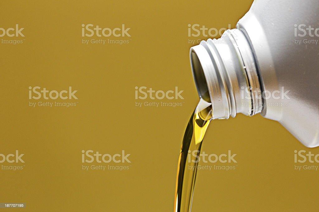 Engine Oil stock photo