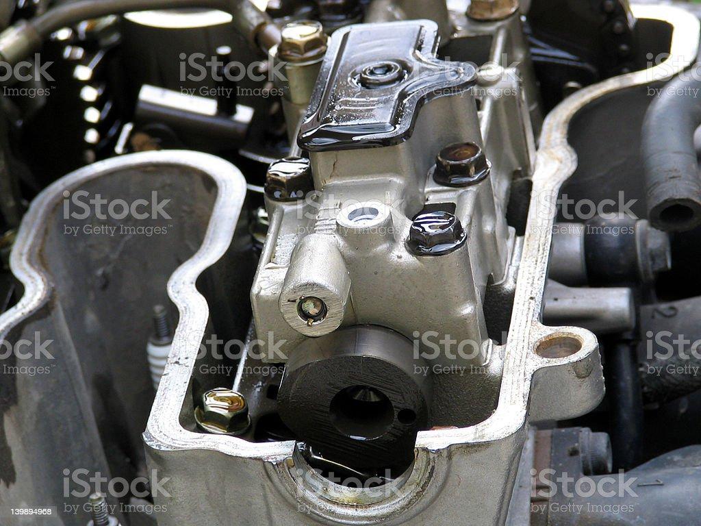Engine Parts royalty-free stock photo