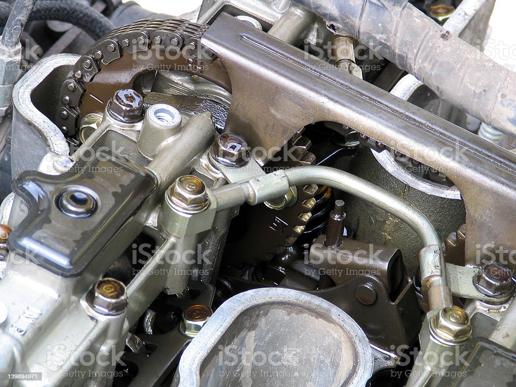 Engine Parts royalty-free stock photo