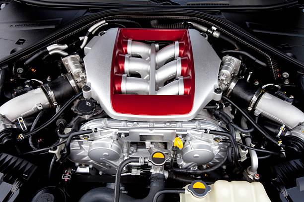 Engine. stock photo